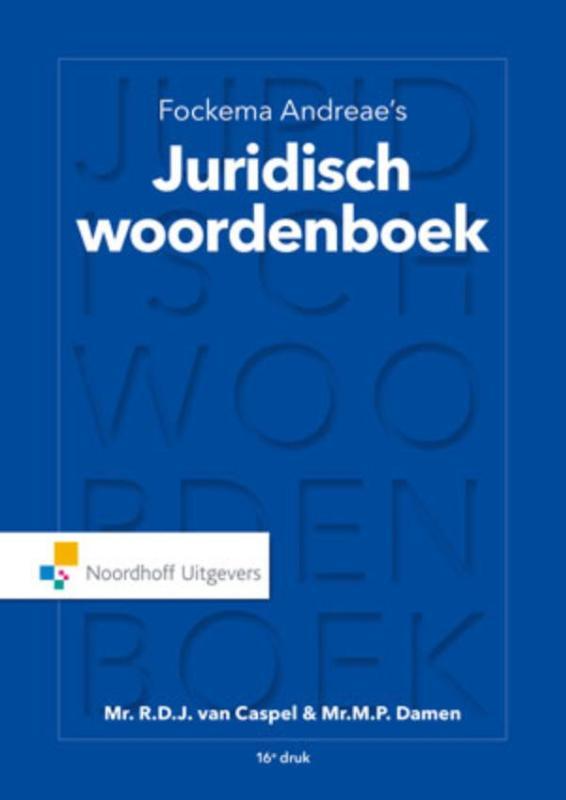 Fockema Andreae's juridisch woordenboek