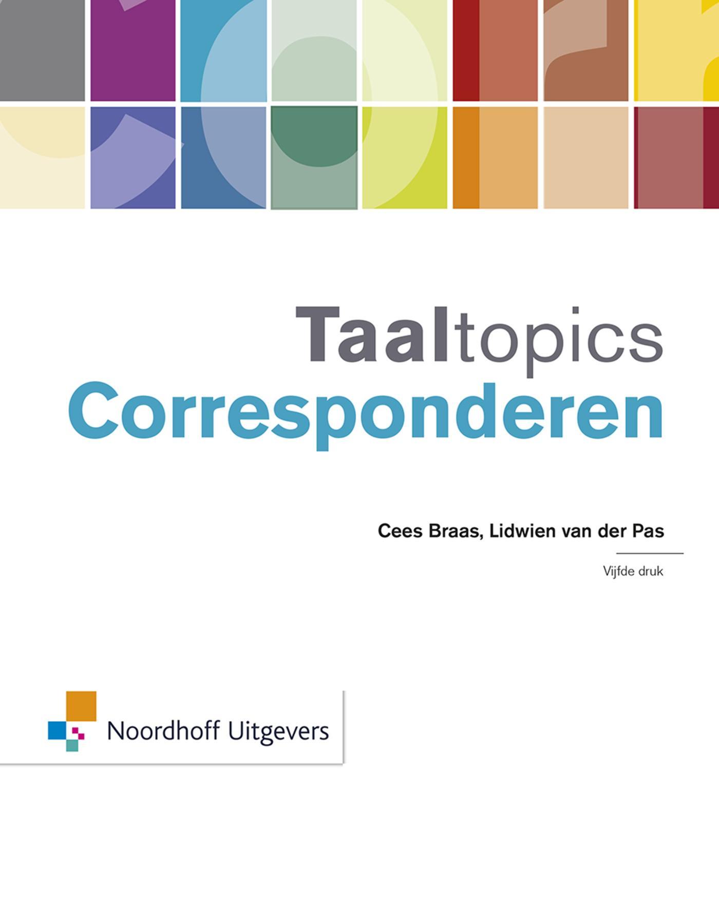 Taaltopics Corresponderen(e-book)