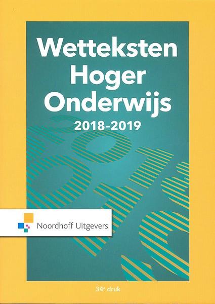Wetteksten Hoger Onderwijs 2018-2019