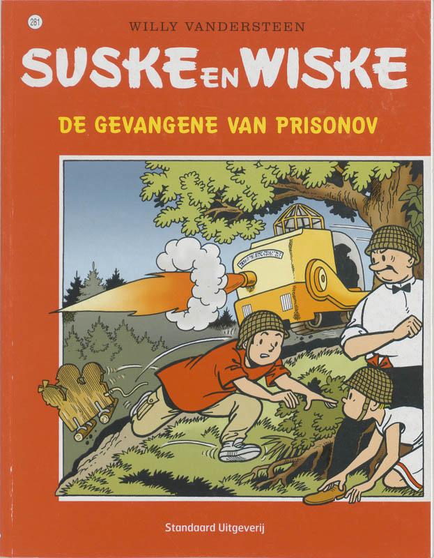 Suske en Wiske 281 De gevangene van Prisoniv
