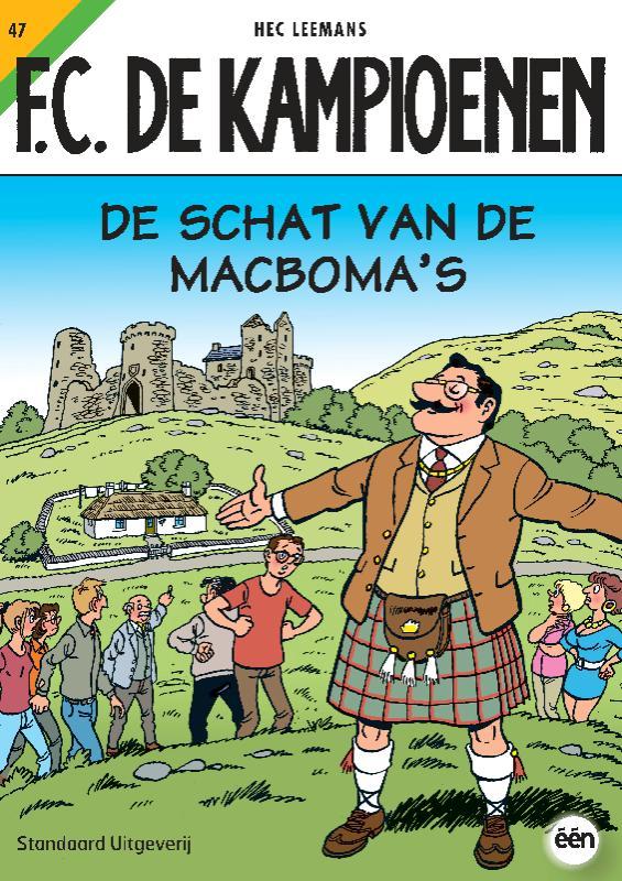 F.C. De Kampioenen De schat van de MacBoma's 47