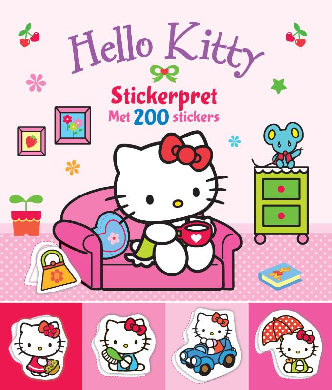 Hello Kitty Stickerpret met 200 stickers