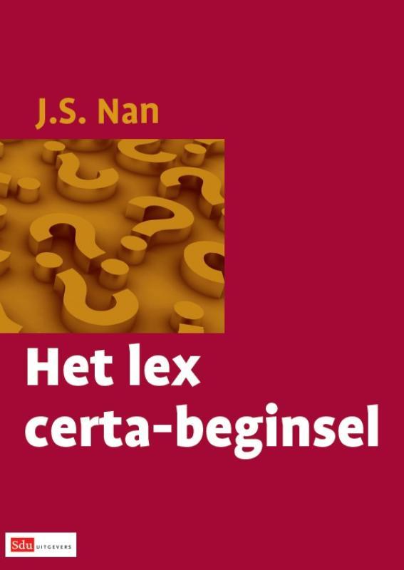 Het Lex certa-beginsel