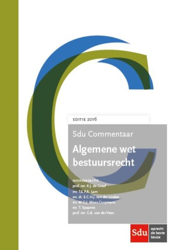 SDU Commentaar Algemene wet bestuursrecht