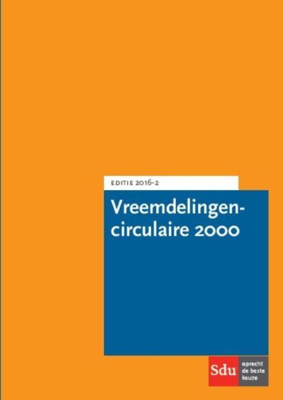 Vreemdelingencirculaire 2000 Pocket Editie 2016-02