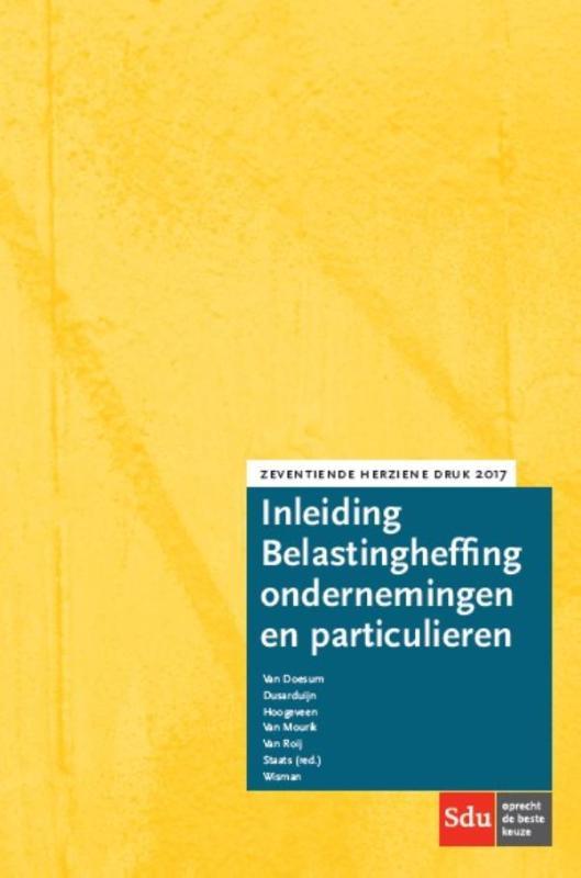 Inleiding Belastingheffing ondernemingen en particulieren