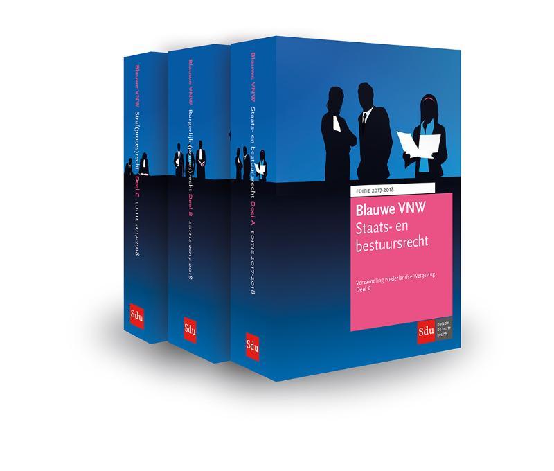 Blauwe VNW - Verzameling Nederlandse Wetgeving
