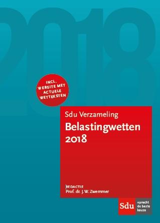 Sdu Verzameling Belastingwetten 2018