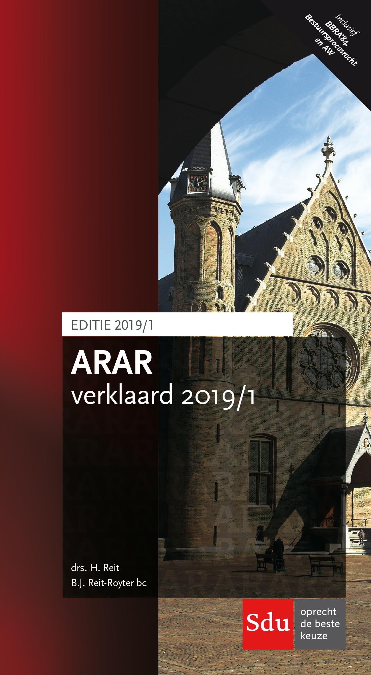 ARAR Verklaard 2019 - 01