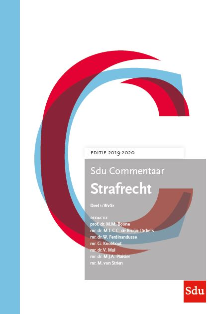 Strafrecht. Editie 2019-2020