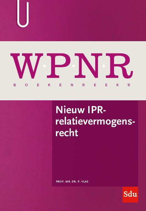 Nieuw IPR-relatievermogensrecht