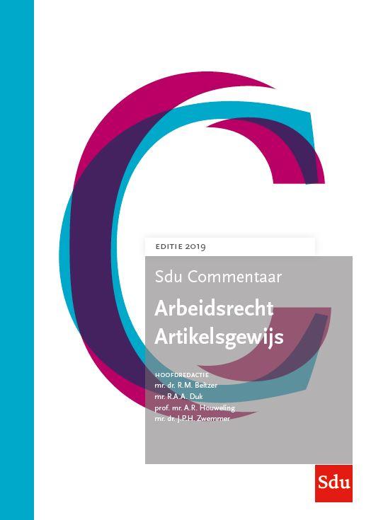 Arbeidsrecht Artikelsgewijs Editie 2019