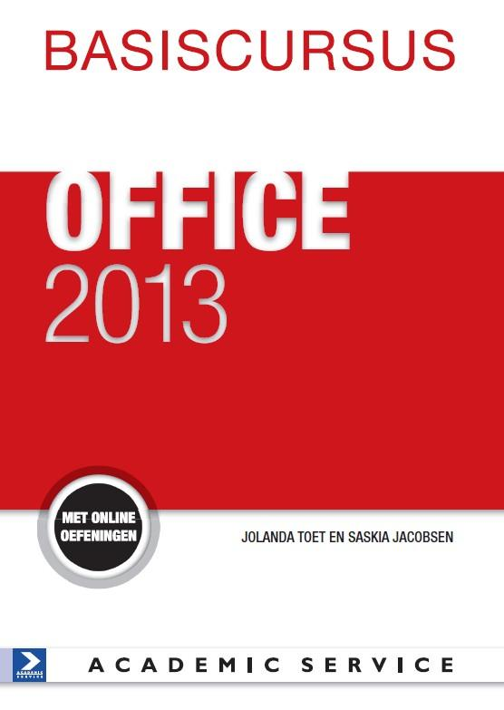 Basiscursus Office 2013