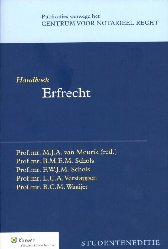 Handboek erfrecht (Mourik)