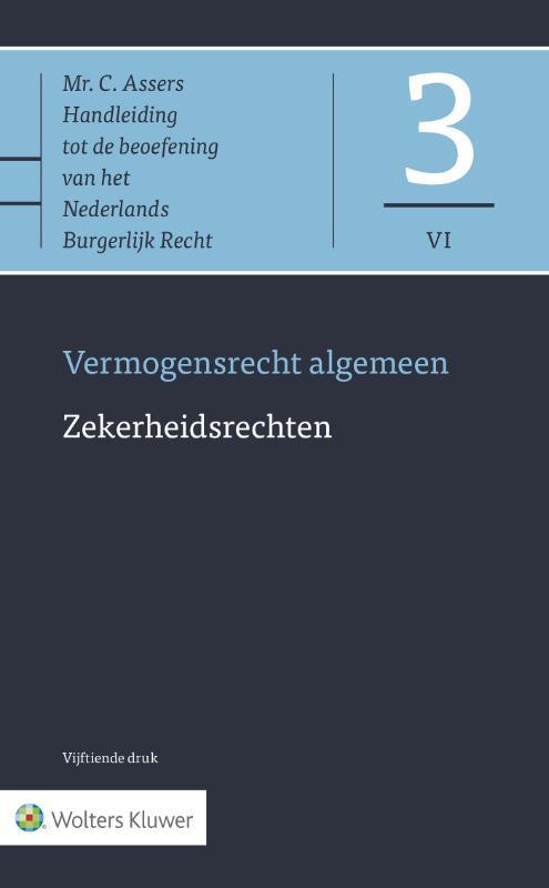 Asser 3-VI Vermogensrecht algemeen - Zekerheidsrechten