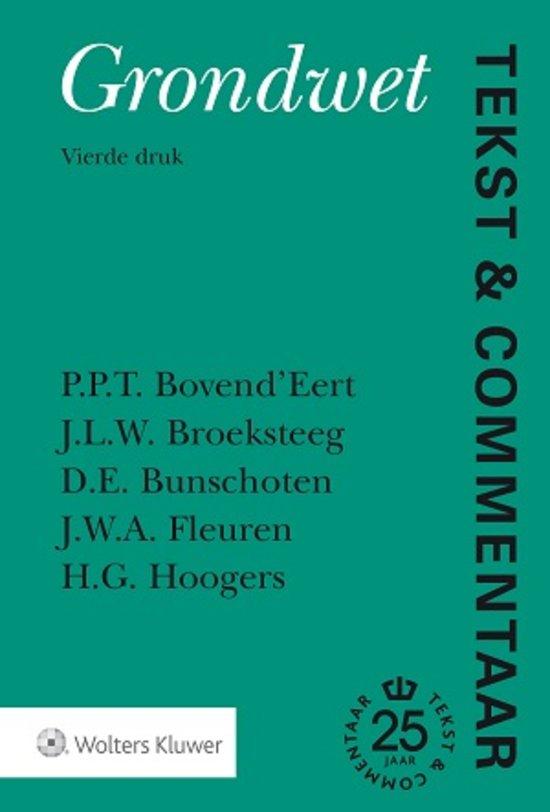 Tekst & Commentaar Grondwet