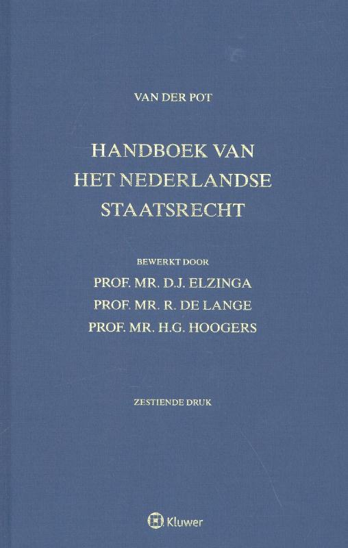 Handboek van het Nederlandse staatsrecht (Pot/Donner)