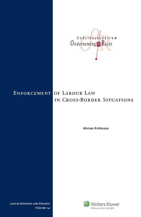 Enforcement of labour law in cross-border situations