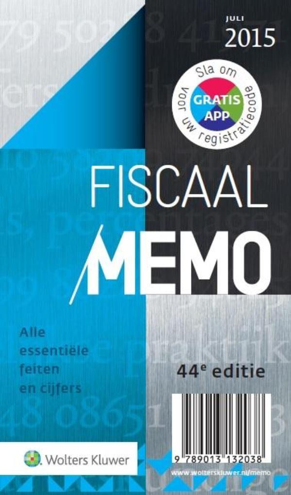 Fiscaal Memo juli 2015
