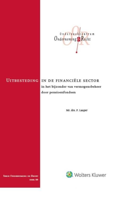 Uitbesteding in de financiële sector