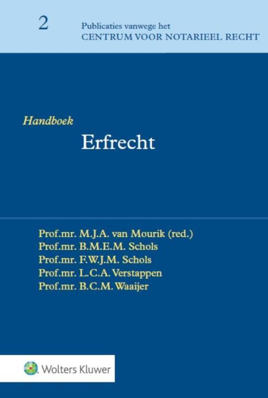Publicaties vanwege het Centrum voor Notarieel Recht