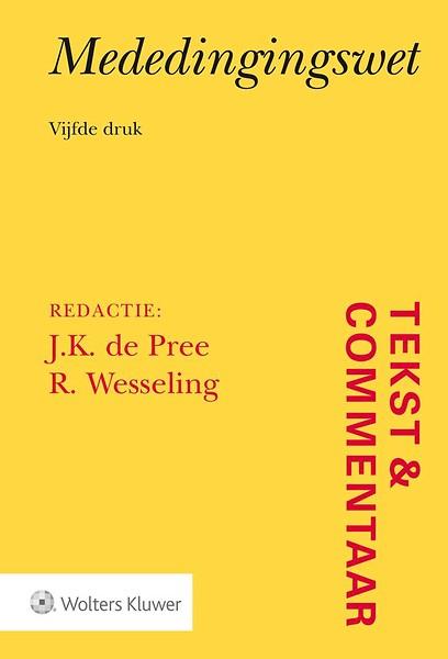 Tekst & Commentaar Mededingingsrecht