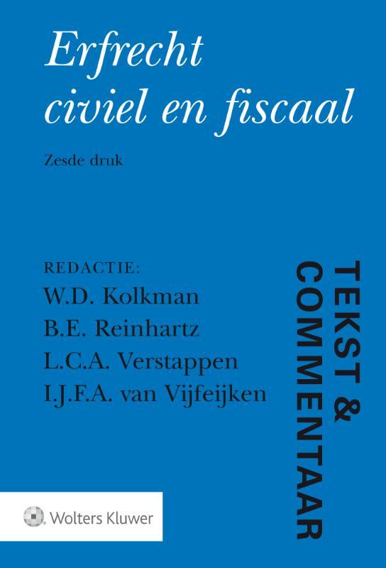Tekst & Commentaar Erfrecht
