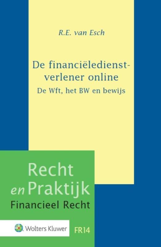 De financiëledienstverlener online