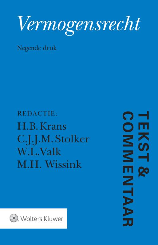 Tekst & Commentaar Vermogensrecht