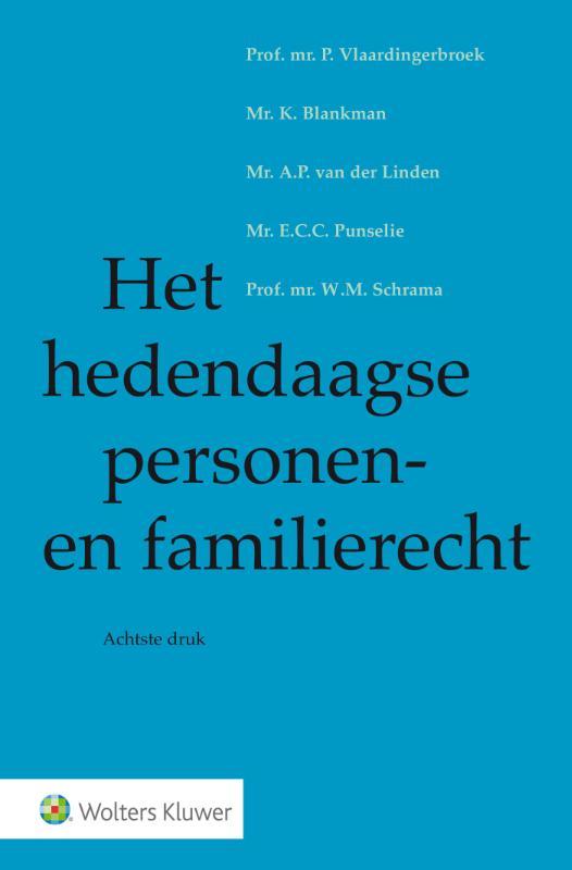Het hedendaagse personen- en familierecht (Vlaardingerbroek)