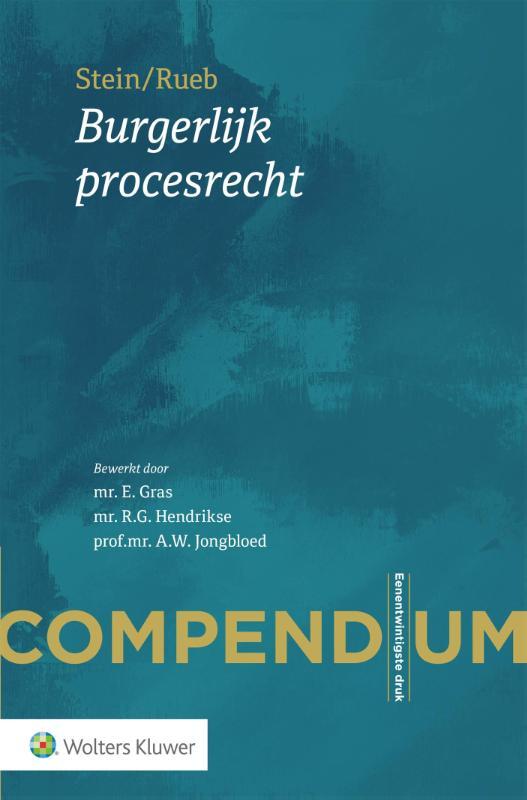 Compendium Burgerlijk procesrecht (Rueb)
