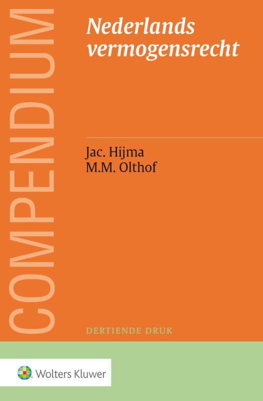 Compendium van het Nederlands vermogensrecht (Hijma)