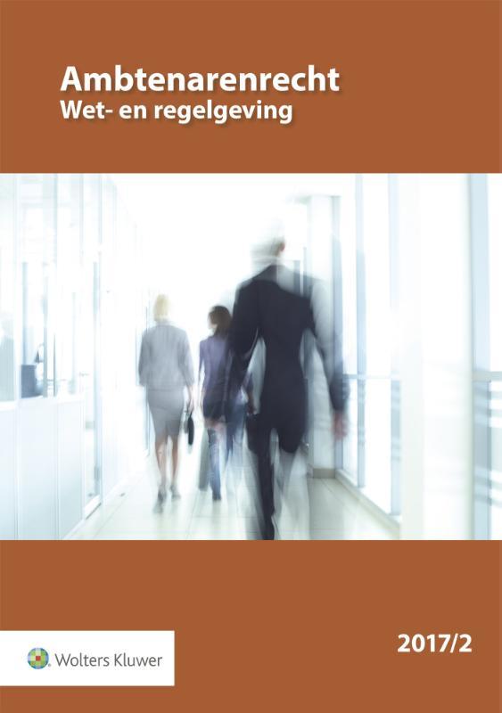 Ambtenarenrecht Wet- en regelgeving
