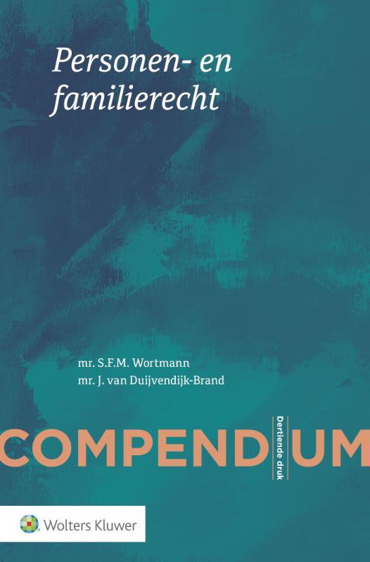 Compendium van het Personen- en familierecht (Wortmann)