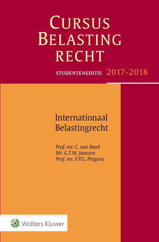 Cursus Belastingrecht Internationaal Belastingrecht