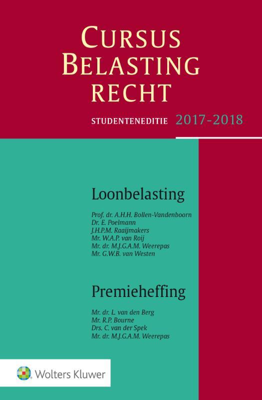 Cursus Belastingrecht Loonbelasting/Premieheffing