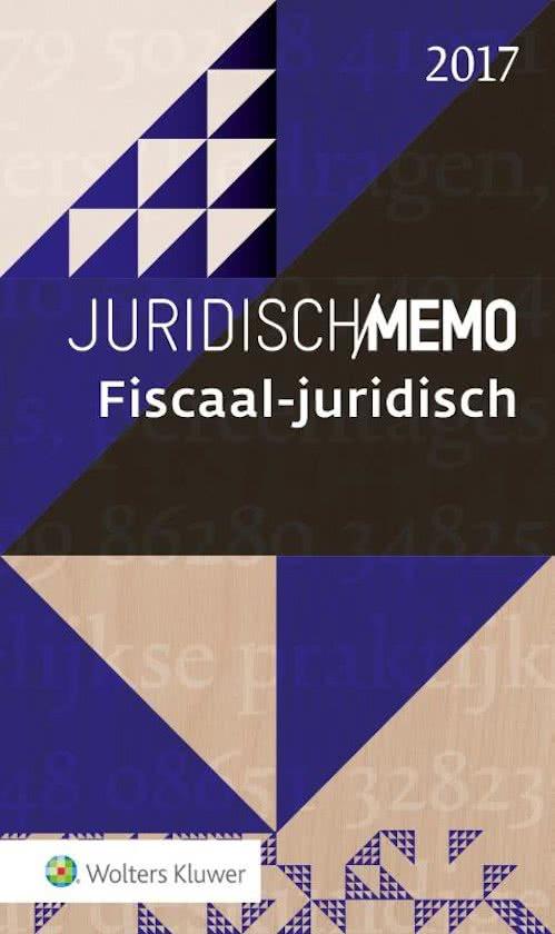 Juridisch Memo - Fiscaal Juridisch