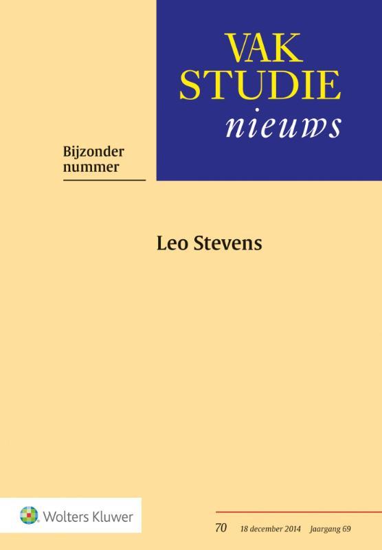 Bijzonder nummer Leo Stevens