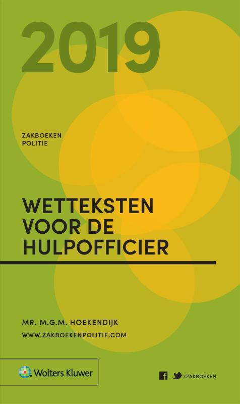 Zakboek Wetteksten voor de Hulpofficier