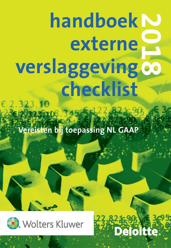 Handboek Jaarrekening Checklist