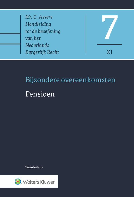Asser 7-XI Bijzondere overeenkomsten - Pensioen