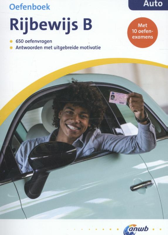 ANWB Rijbewijs B Oefenboek - Auto