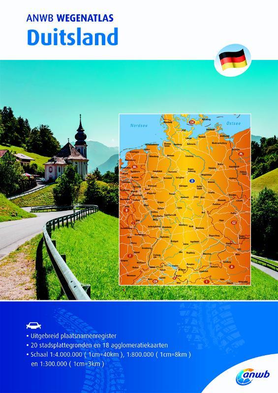 Wegenatlas Duitsland