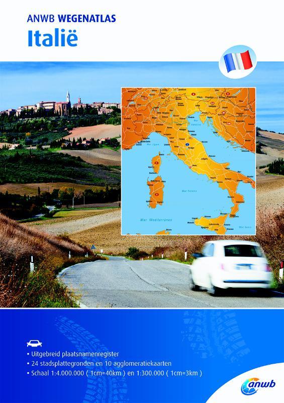 Wegenatlas Italië
