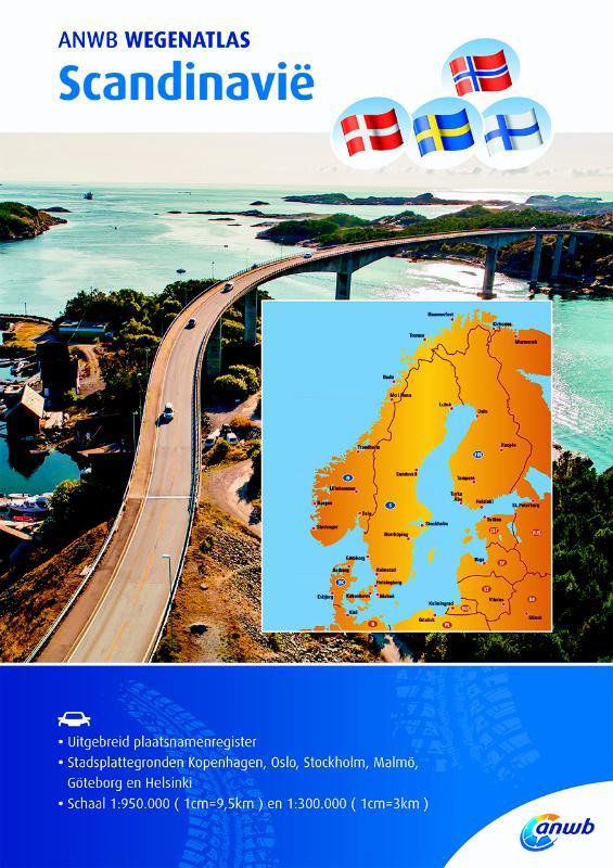 Wegenatlas Scandinavië