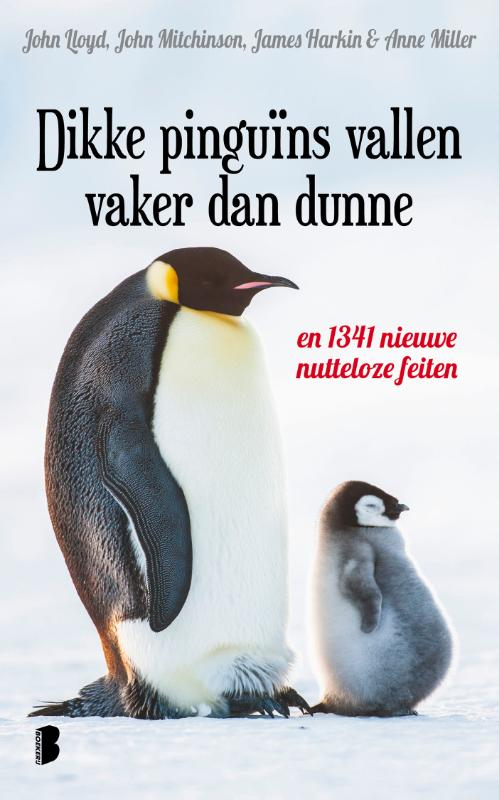 Dikke pinguïns vallen vaker dan dunne
