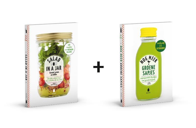 Salad in a jar + Nog meer groene sapjes