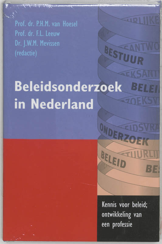 Beleidsonderzoek in Nederland