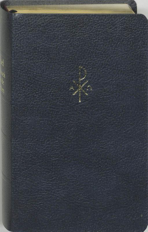 Bijbel NBG Liedboek Junior Blauw kunstleer