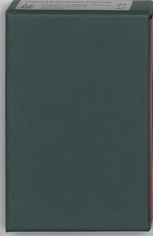 Bijbel lilliputbijbel Kleursnede, bordeaux NBG-vertaling 1951